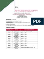 Agenda MTE18C