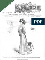 La Moda Elegante (Cádiz). 30-7-1908