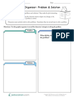 Graphic Organizer Problem and Solution