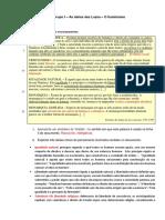 Criterios Teste Iluminismo e Revoluçao Francesa
