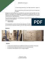 Heat Pump Lab Sheet
