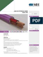 Cable de Potencia Cobre Xlpe Pvc