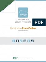 CCSP Exam Outline