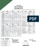 Jadwal Pelajaran Thn 2018-2019