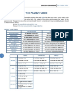 Passive Voice test