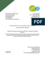 Schaus 2011 Master-DG Reglementation