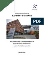 Rapport v3 Centre Hospitalier de Valenciennes