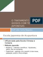 Tratamento com técnicas Japonesas