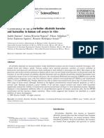 Tetrahydroisoquinoline & B-Carboline Alkaloids