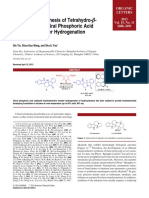 Asymmetric Synthesis of Tetrahydro-B-carbolines