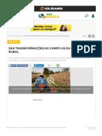 Das transformações no campo às da Sociologia Rural - Brasil Escola