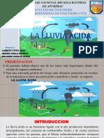 Lluvia Acida