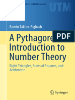 TAKLOO-BIGHASH, RAMIN - A Pythagorean Introduction to Number Theory_ Right Triangles, Sums of Squares, And Arithmetic. (2019, SPRINGER)