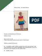 Rainbow Dress Ravelry