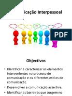 Comunicação Interpessoal-Apresentação