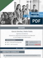 1 Cis - Induccion Pac Presencial 2019