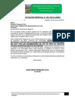 Carta de Invitación Especial Huantan. Final