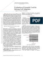 Laboratory Evaluation of Geogrids Used for Stabilizing Soft Subgrades