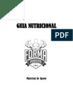 Guia Nutricional Forma Perfeita (Material Por Escrito)