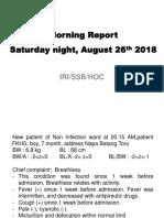 Morning Report 26 Agustus