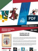Novedades Dibbuks febrero 2019