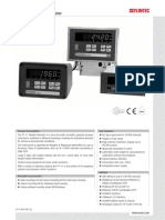 Ft 11 Indicator Datasheet En