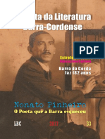 Revista Da Literatura Barra-cordense.1