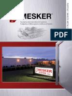 catalogo puertas mesker