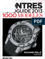 Montres Horoguide 2013 - 1000 Modeles