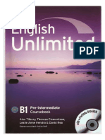 B1 English Unlimited Coursebook (Pre-Int).PDF
