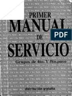PRIMER Manual de Servicio 4TO Y 5TO PASO