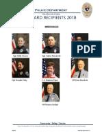 2018 End of Year Award Recipients Pics