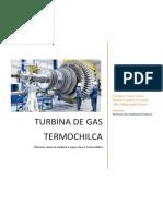 turbina de gas  de termochilca