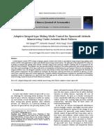 Adaptive Integral-type Sliding Mode Control for Spacecraft Attitude
