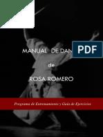 Rosa Romero Manual de Danza