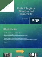 Embriología y Biología Del Desarrollo