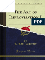 The Art of Improvisation I 1000094285