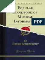 Popular Handbook of Musical Information 1000020800