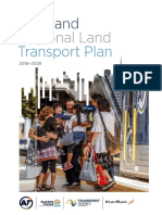 Auckland Regional Land Transport Plan 2018 to 2028