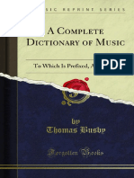 A Complete Dictionary of Music 1000016810