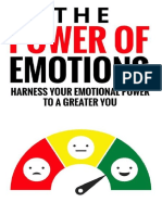 The Power of Emotions