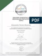 My DevOps Certificate