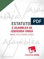 Estatutos x Asamblea IU