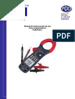Manual- Analizador PCE - PCM1