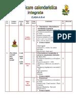 Planificare Calendaristica Clasa a 3-A