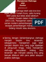 Materi Management Sport