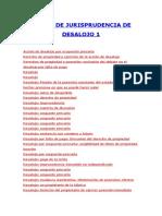 JURISPRUDENCIA DESALOJO 1.doc