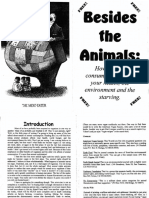 Besides the Animals - how animal consumption effects your health, the environment and the starving