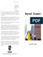 Beyond Dissent by Jeff Luers