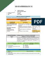2.- Sesiones de Aprendizaje - Unidad Didáctiva N° 09 - 2018.docx
